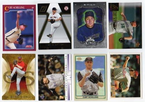 Lot of 35 Different Curt Schilling Baseball Card