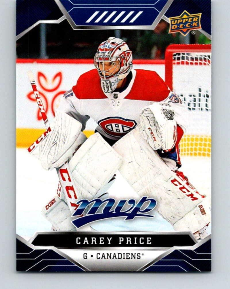 2019-20 Upper Deck MVP Blue #213 Carey Price mint Hockey NHL Canadiens