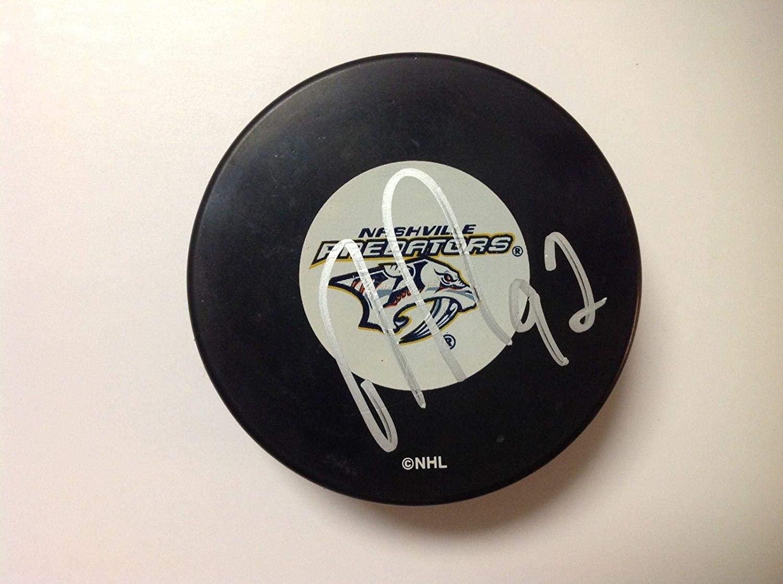 Ryan Johansen Signed Hockey Puck - a - Autographed NHL Pucks