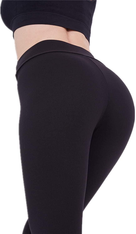 DCRT High Waisted Leggings for Women – Stretch Yoga Pants with Hidden Pocket (Reg & Plus Size)