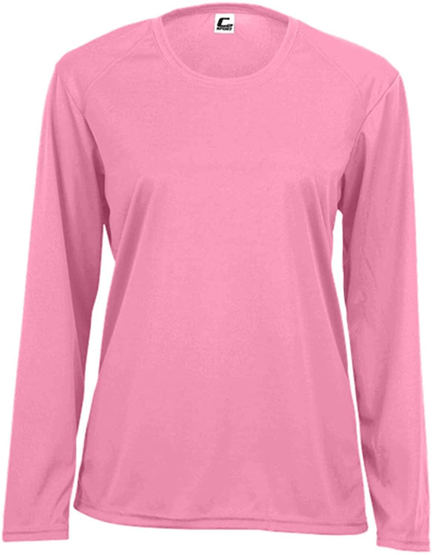 C2 Sport Women's Performance Long Sleeve T-Shirt - 2XL / Pink