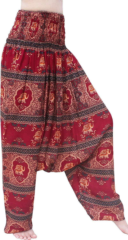 Full Funk Low Rider Short Leg Harem Aladdin Mao Pants in Luxurious Viscose Rayon