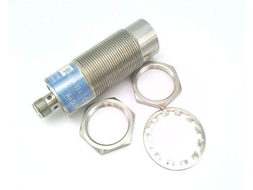 RADWELL RAD07246 UNSHIELDED, AC/DC, N/O, Proximity Sensor - INDUCTIVE, 30MM Threaded Body, 1/2-20 QD, 15MM Range, Stainless Steel FACE & Body, Cylindrical, 3-PIN