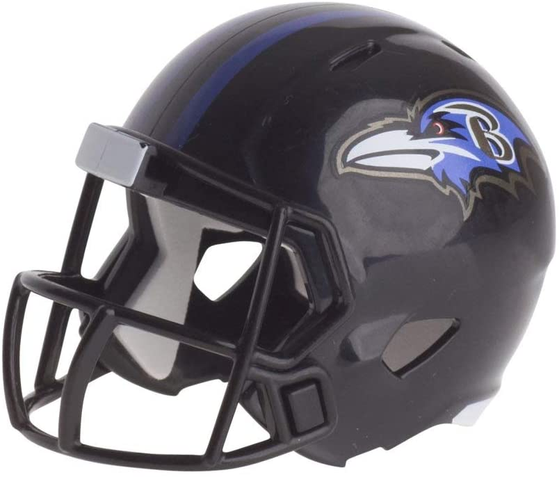 Baltimore Ravens NFL Riddell Speed Pocket PRO Micro/Pocket-Size/Mini Football Helmet