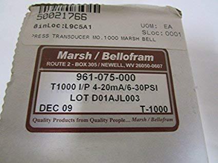 Fevas Type 1000 T1000 Transducer 961-075-000 4-20MA 6~30PSI 0.4~2.1bar