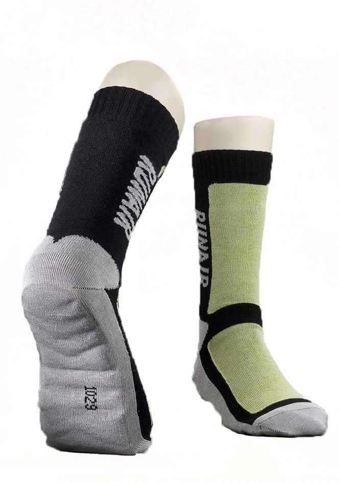 Bravo Air-Circulation Bamboo Charcoal Hiking Socks