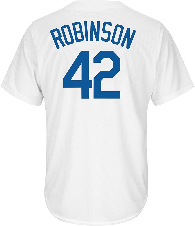 Brooklyn Dodgers Jackie Robinson Majestic MLB Men'