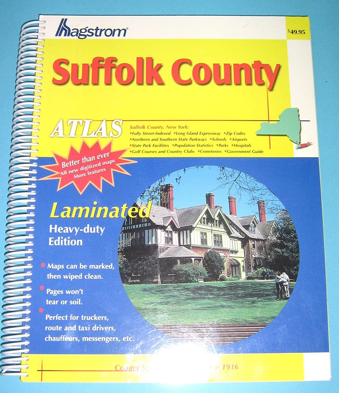 Hagstrom, Suffolk County Atlas