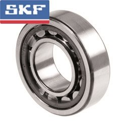 SKF NU 216 ECJ Cylindrical Roller Bearing, Removable Inner Ring, Straight, High Capacity, Steel Cage, Metric, 80mm Bore, 140mm OD, 26mm Width, 4800rpm Maximum Rotational Speed, 37300lbf Static Load Capacity, 31000lbf Dynamic Load Capacity
