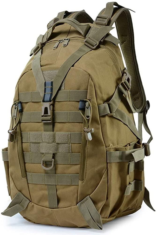 K-mover 25L Daypack Military Water Resistant Shoulder Backpack Rucksack Gear Tactical Assault Pack Student School Bag