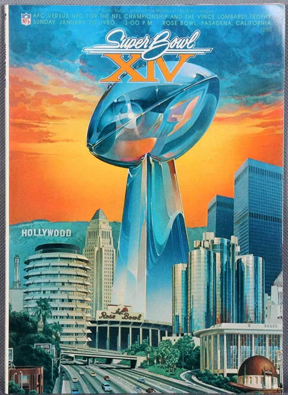 Super Bowl XIV Program - NFL Programs