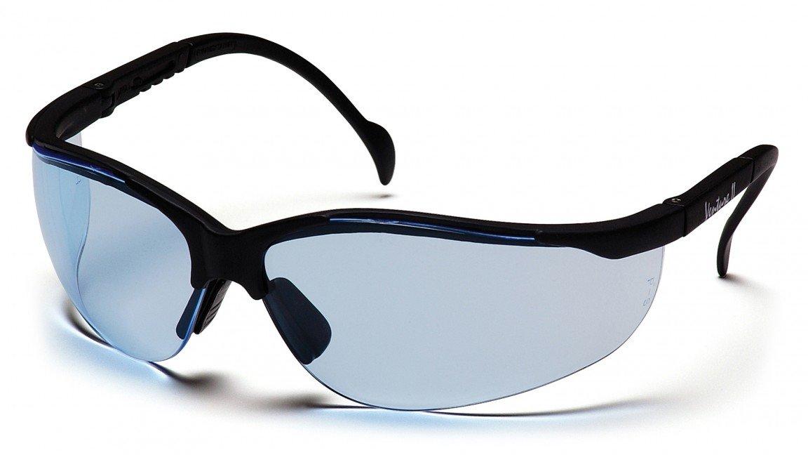 (12 Pair) Pyramex SB1860S Venture II Safety Glasses Infinity Blue