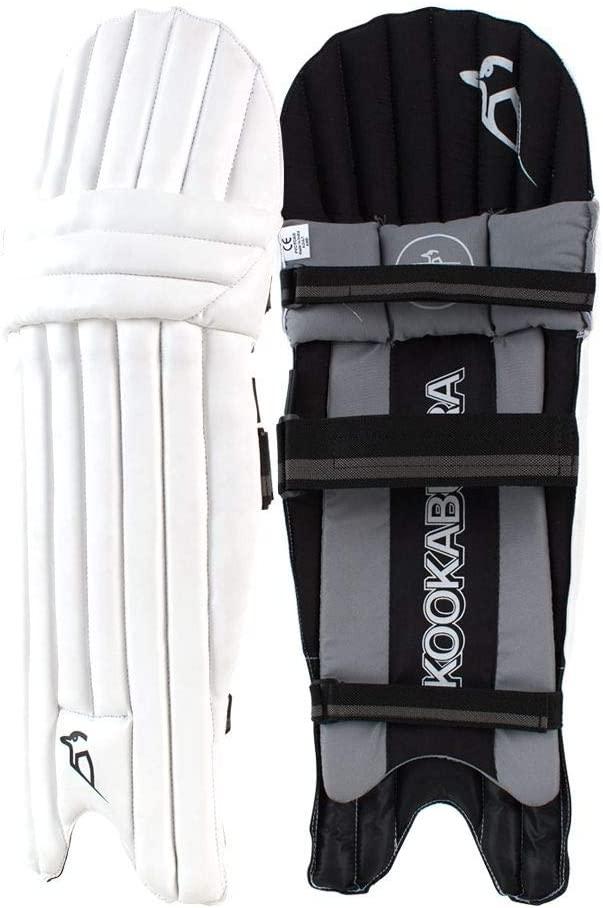 KOOKABURRA Unisex-Youth 2020 Shadow 5.1 Batting Pads Ambi, Black/White/Grey