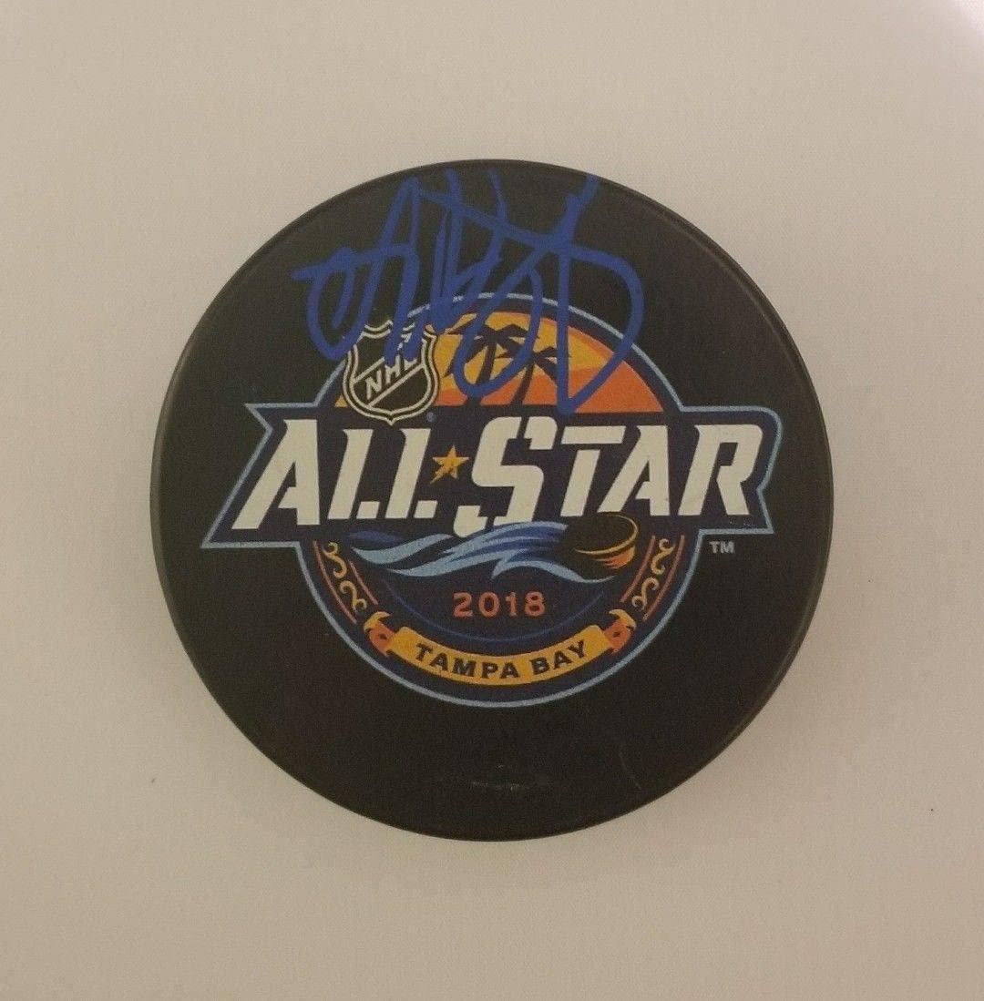 Andrei Vasilevskiy Autographed Hockey Puck - All Star - JSA Certified - Autographed NHL Pucks