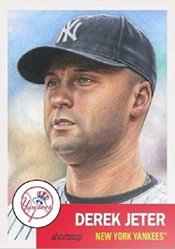 2018 Topps Living Set Card #10 - Derek Jeter New York Yankees Baseball Card - SP Short Print #10