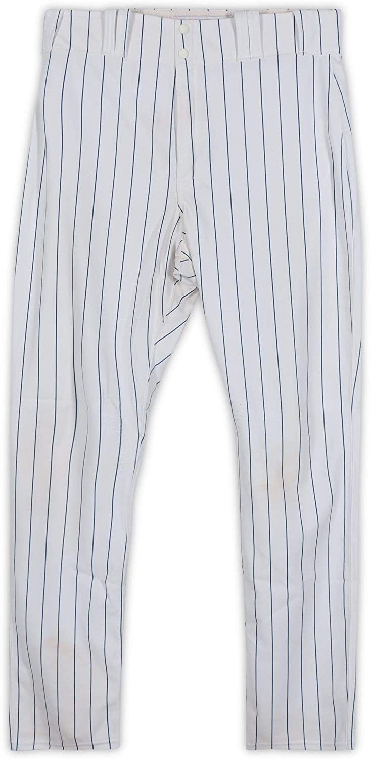 Geovany Soto Chicago Cubs Game-Used White Pants from Spring Training of the 2011 MLB Season - Fanatics Authentic Certified