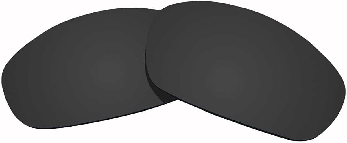 Polarized Replacement Lenses for Oakley Straight Jacket 2007 Sunglasses by Sunnublue2(Black)