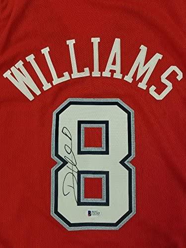 Autographed Deron Williams Jersey - Swingman ~ Beckett BAS COA - Beckett Authentication - Autographed NBA Jerseys