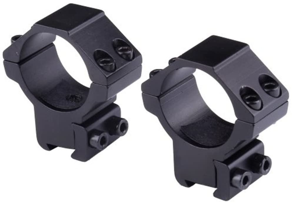Noga 30mm Scope Rings for Rifle Dovetail 11mm Rail and Base W 14mm Saddle Height 2pcs