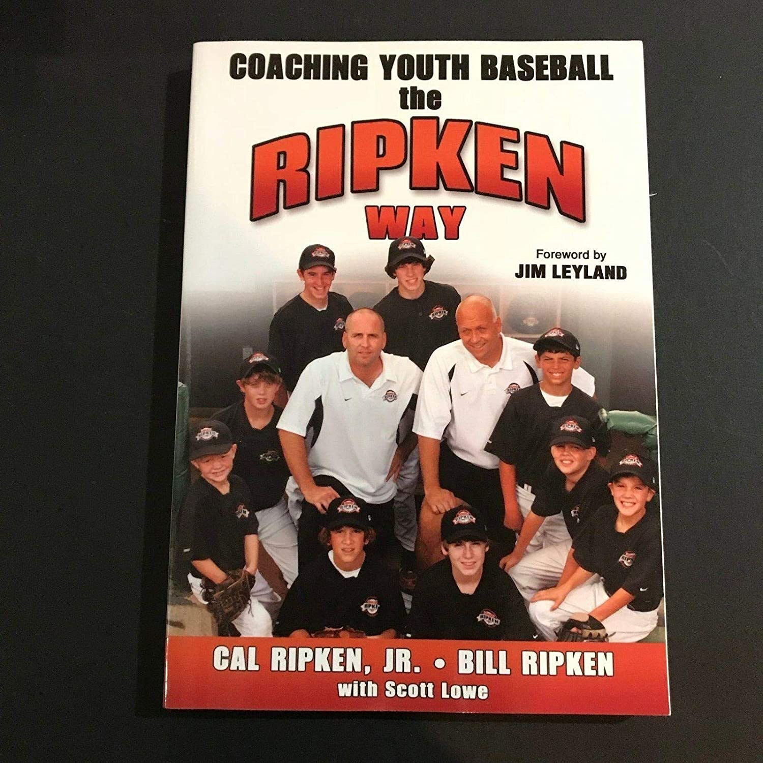 Cal Ripken Signed Book Auto Ripken Way Coaching Youth Baseball H/C Orioles - JSA Certified - MLB Autographed Miscellaneous Items
