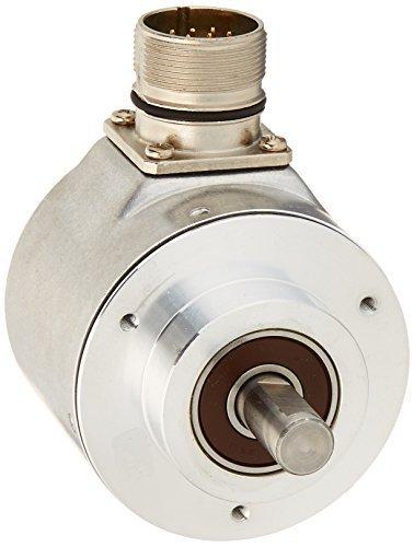 Hengstler 0550441 RI58-O/2000ES.41RD Incremental Encoder, 6 mm Solid Shaft, 2000 Pulses, Grey
