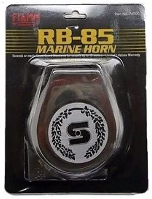 FIAMM MARINE MINI COMPACT HORN WITH STAINLESS STEEL COVER