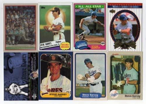 Lot of 16 Different Steve Garvey Baseball Card No Dupes!