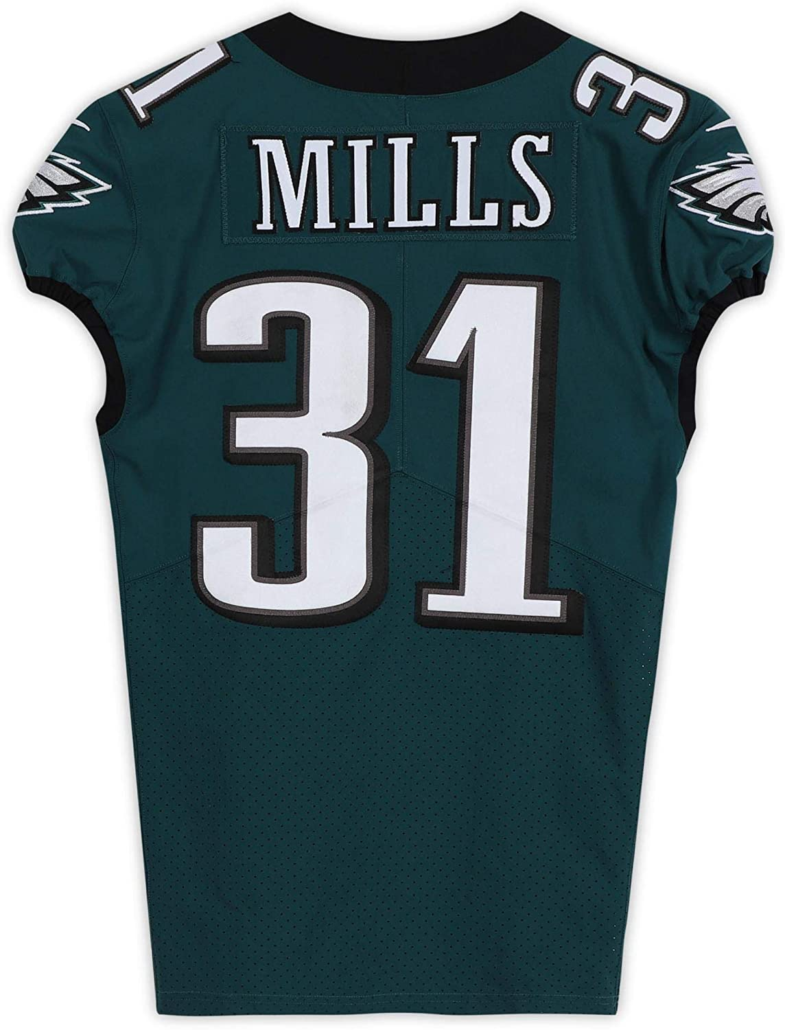 Jalen Mills Philadelphia Eagles Game-Used #31 Green Jersey from the 2019-20 NFL Season - Size 38+4 - Fanatics Authentic Certified