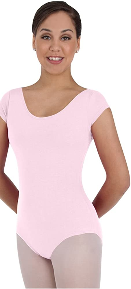Body Wrappers Classwear Short Sleeve Ballet Cut Leotard
