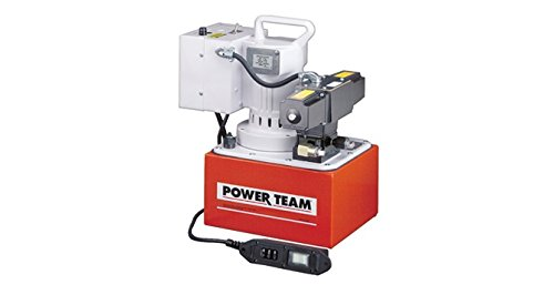 SPX Power Team PE554S Electric Portable Pump for Double Acting Cylinders
