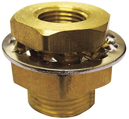 Anchor Brass Coupling, 1/4 In, FNPT