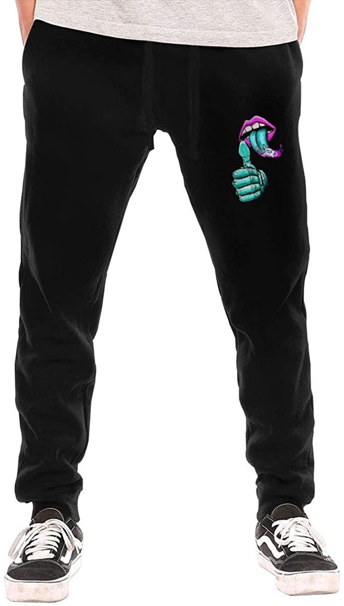 Men's Santa Cruz Screaming Hand Jogging Trousers Black