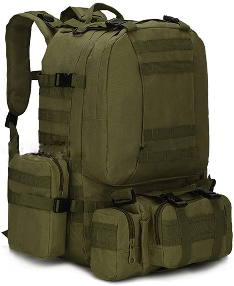 ZhaJunBag Unisex 3D Military Tactical Rucksack Backpack Camping Hiking Trekking Bag Outdoor Supplies