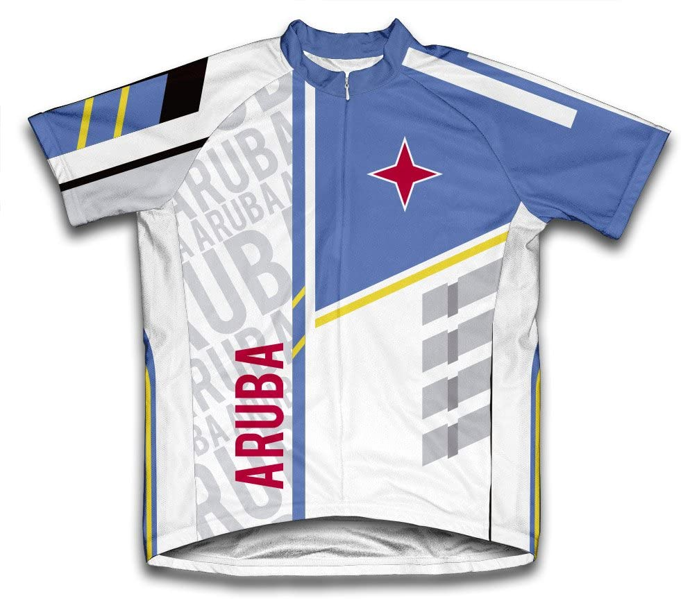 ScudoPro Aruba Short Sleeve Cycling Jersey for Men