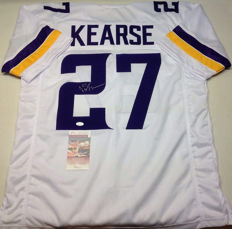 Jayron Kearse Autographed Jersey - Custom White Coa!!!! - JSA Certified - Autographed NFL Jerseys