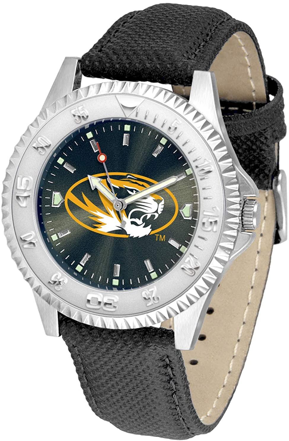 Missouri Tigers Competitor AnoChrome Men's Watch