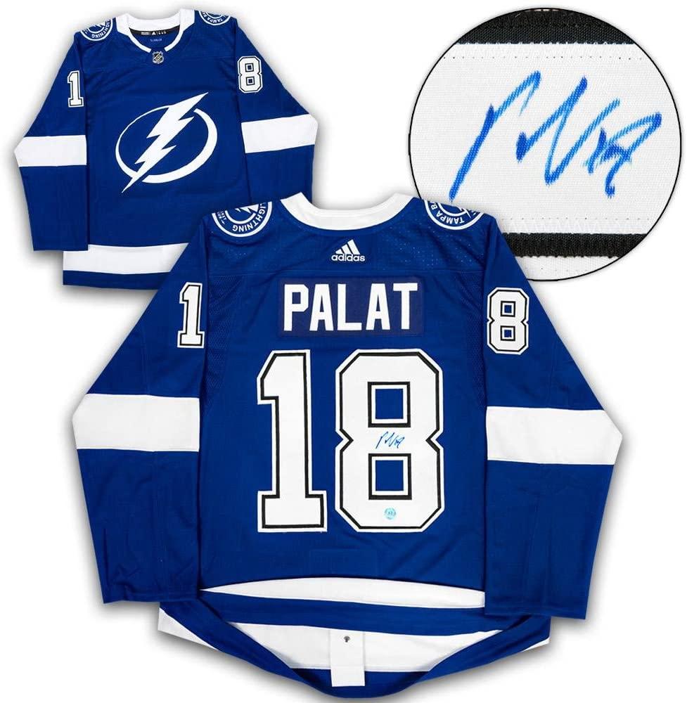 Ondrej Palat Autographed Jersey - Adidas - Autographed NHL Jerseys