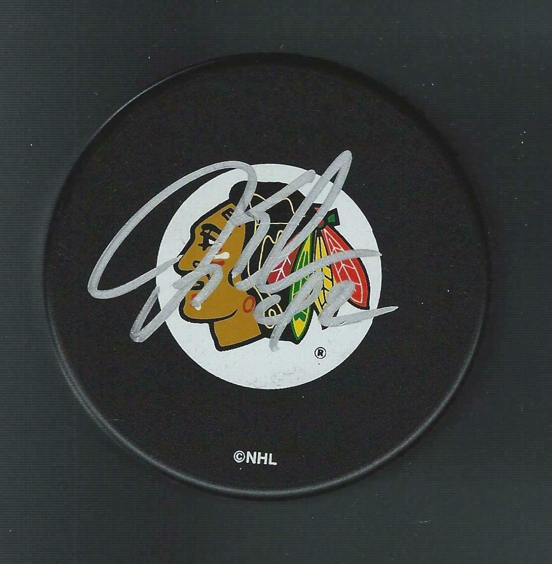 Jon Klemm Signed Hockey Puck - Autographed NHL Pucks