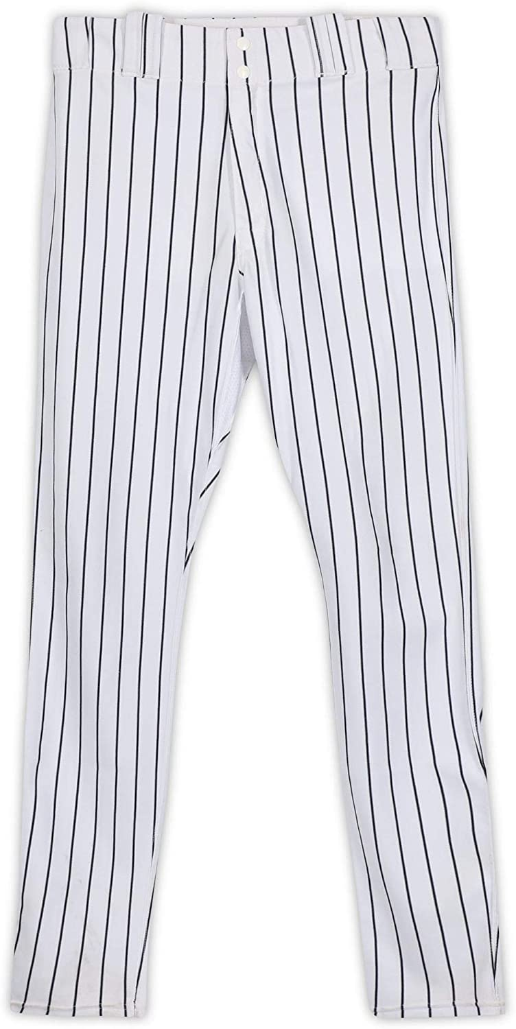 Chasen Shreve New York Yankees Game-Used #45 White Pinstripe Pants from the 2016 MLB Season - Fanatics Authentic Certified