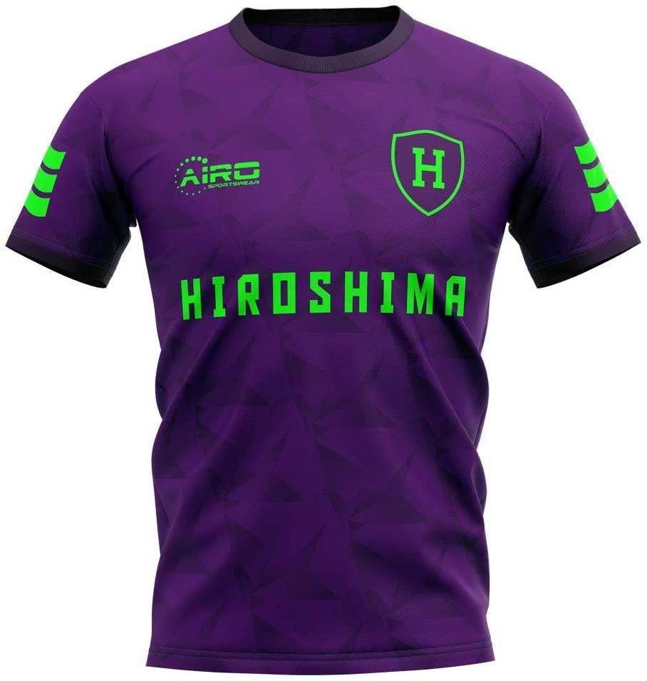 Airosportswear 2020-2021 Sanfrecce Hiroshima Home Concept Football Soccer T-Shirt Jersey - Kids