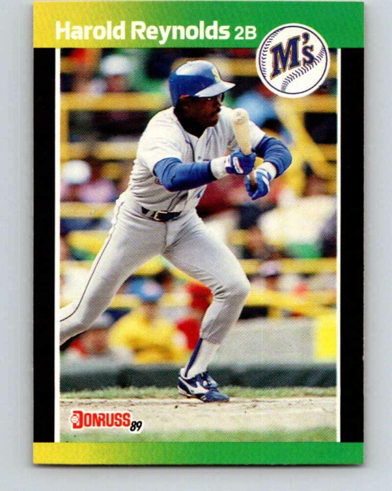 1989 Donruss #93 Harold Reynolds Mint Baseball MLB Mariners