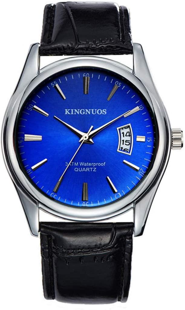 SheShiLs Luxury Men's Watch Waterproof Date Clock Watches Men Quartz Casual Wrist Watch