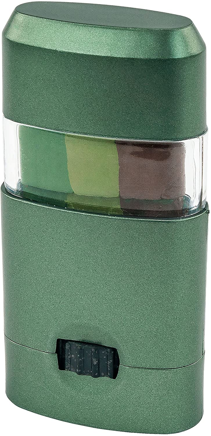 CAMO-UP! Military Hunting Camouflage Face Paint, Dark Green/Light Green/Brown