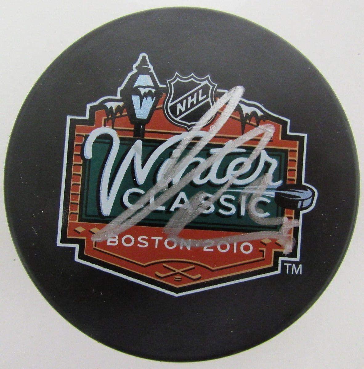 James van Riemsdyk Signed Hockey Puck - Winter Classic Logo 139235 - JSA Certified - Autographed NHL Pucks