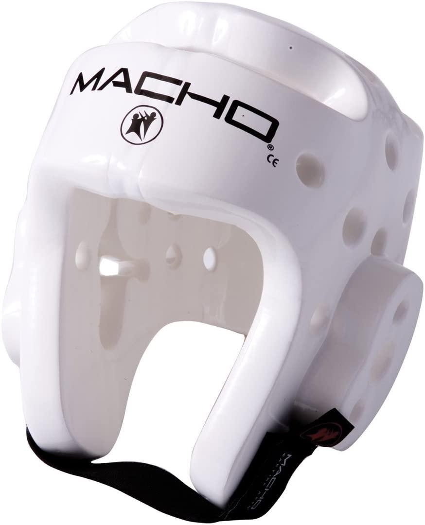 Macho Dyna Head (White, Large)