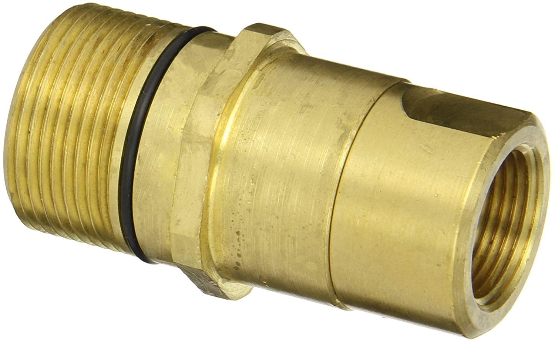 Dixon Valve W6F6-B Brass Wingstyle Interchange Hydraulic Fitting, Nipple, 3/4