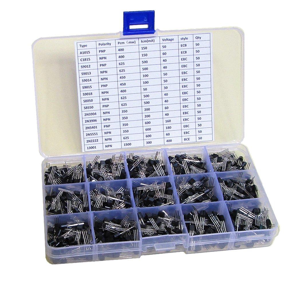 Almencla 750x General Transistor Assortment Box Silicone