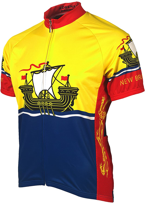 Adrenaline Promotions Canadian Provinces New Brunswick Cycling Jersey