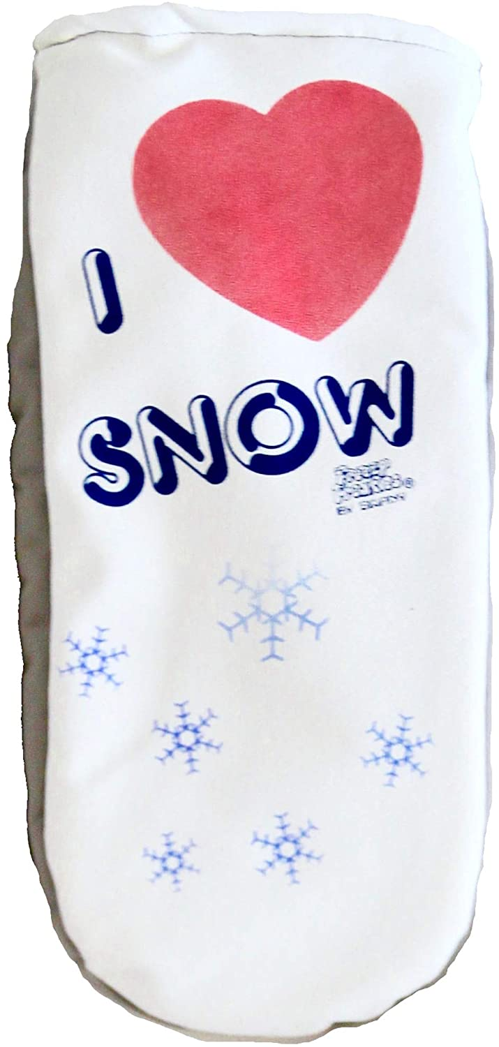 Freezy Freakies - I Love Snow Mitten Style - Retro Color-Changing Winter Gloves