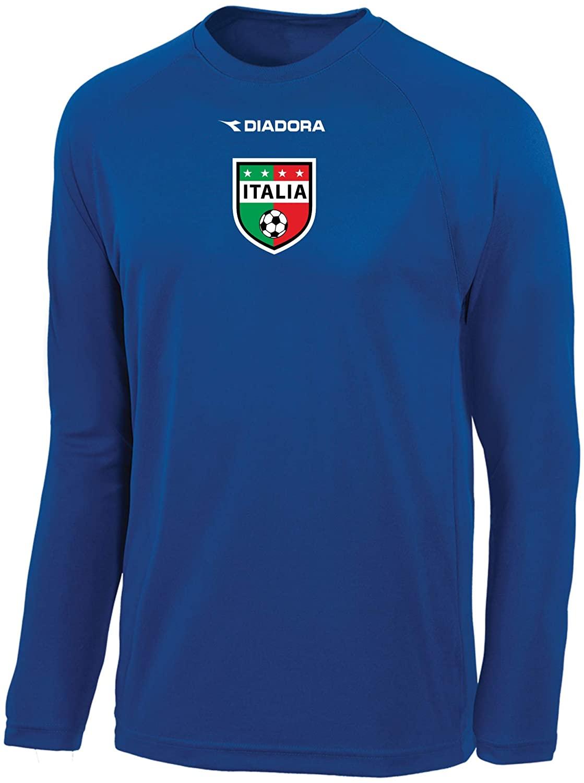 Diadora Italia Long Sleeve Soccer Jersey